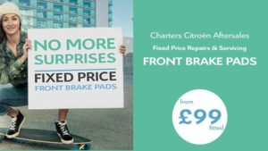 citroen-fixed-price-repairs-replacement-front-brake-pads-fitted-an