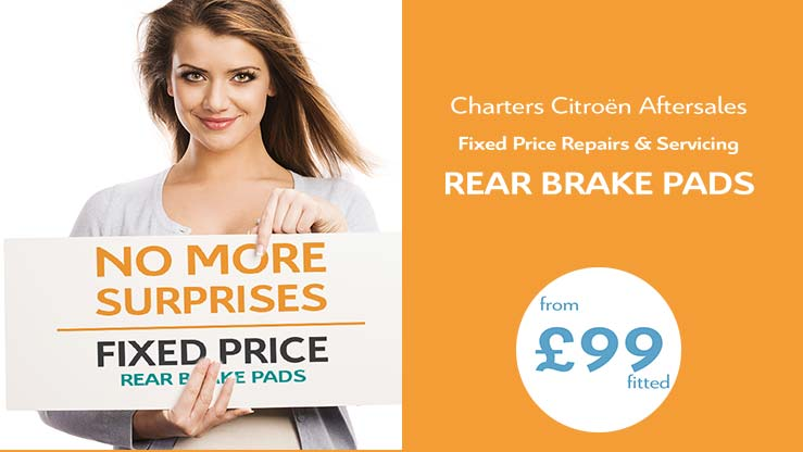 citroen-fixed-price-repairs-replacement-rear-brake-pads-fitted-an