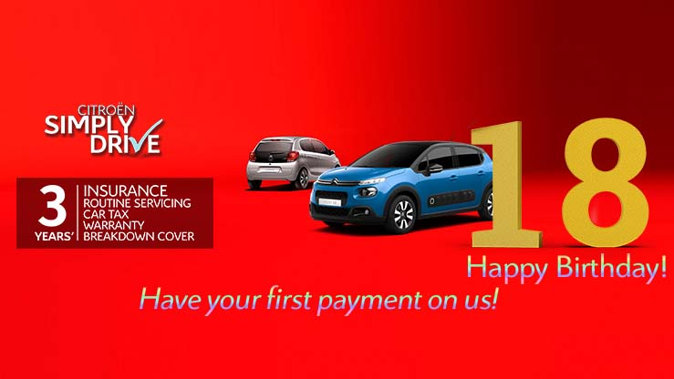 18th-birthday-present-simplydrive-c1-first-car-payment-on-us-an