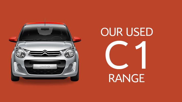 our-used-citroen-c1-range