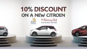 ten-percent-discount-on-new-citroen-for-foxy-lady-drivers-club